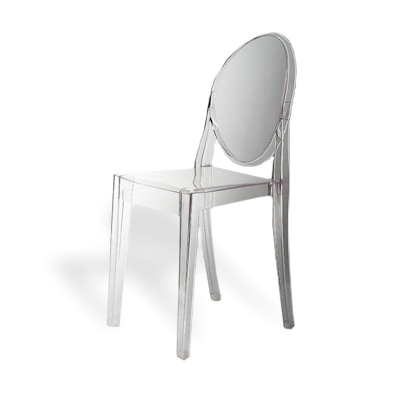 KARTELL : sedia Victoria Ghost trasparente